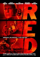 RED - Colombian Movie Poster (xs thumbnail)