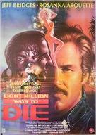 8 Million Ways to Die - British Movie Cover (xs thumbnail)
