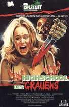Splatter University - German Movie Cover (xs thumbnail)