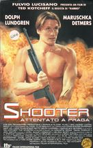 The Shooter - Italian VHS movie cover (xs thumbnail)