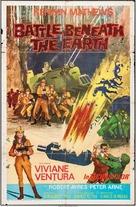 Battle Beneath the Earth - British Movie Poster (xs thumbnail)