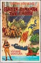 Battle Beneath the Earth - British Movie Poster (xs thumbnail)