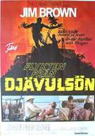 I Escaped from Devil's Island - Swedish Movie Poster (xs thumbnail)