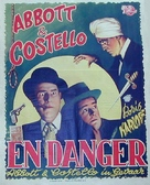 Abbott and Costello Meet the Killer, Boris Karloff - Danish Movie Poster (xs thumbnail)