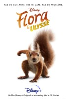 Flora & Ulysses - French Movie Poster (xs thumbnail)