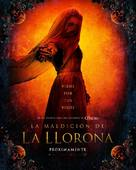 The Curse of La Llorona - Mexican Movie Poster (xs thumbnail)