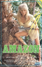 Amazons - Finnish VHS movie cover (xs thumbnail)