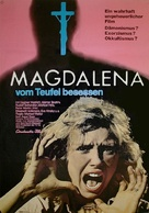 Magdalena, vom Teufel besessen - German Movie Poster (xs thumbnail)