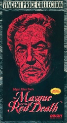 The Masque of the Red Death - VHS movie cover (xs thumbnail)
