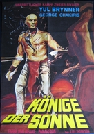 Kings of the Sun - German Movie Poster (xs thumbnail)