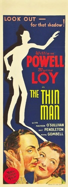 The Thin Man - Australian Movie Poster (xs thumbnail)