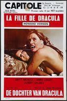 Fille de Dracula, La - Belgian Movie Poster (xs thumbnail)