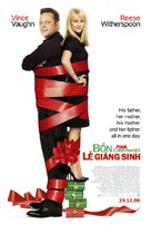 Four Christmases - Vietnamese Movie Poster (xs thumbnail)