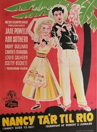 Nancy Goes to Rio - Danish Movie Poster (xs thumbnail)