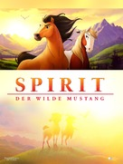 Spirit: Stallion of the Cimarron - German DVD movie cover (xs thumbnail)