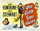 You Gotta Stay Happy - Movie Poster (xs thumbnail)