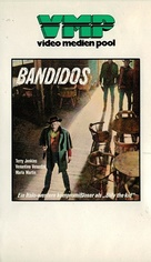 Bandidos - German VHS cover (xs thumbnail)