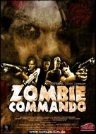 Zombie Commando - German Movie Poster (xs thumbnail)
