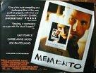 Memento - British Theatrical movie poster (xs thumbnail)