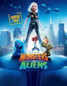 Monsters vs. Aliens - Norwegian Movie Poster (xs thumbnail)