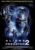 AVPR: Aliens vs Predator - Requiem - Italian Movie Poster (xs thumbnail)