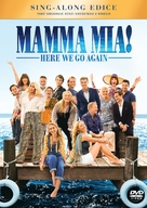 Mamma Mia! Here We Go Again - Czech DVD movie cover (xs thumbnail)