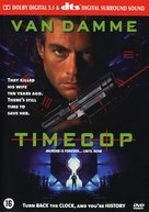 Timecop - Dutch DVD movie cover (xs thumbnail)