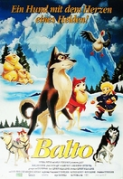 Balto - German Movie Poster (xs thumbnail)