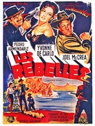 Border River - French Movie Poster (xs thumbnail)