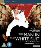 The Man in the White Suit - British Blu-Ray movie cover (xs thumbnail)