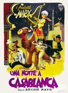 A Night in Casablanca - Italian Movie Poster (xs thumbnail)