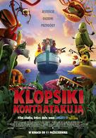Cloudy with a Chance of Meatballs 2 - Polish Movie Poster (xs thumbnail)
