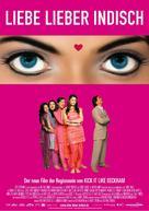 Bride And Prejudice - German Movie Poster (xs thumbnail)
