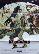 Sky Riders - Danish Movie Poster (xs thumbnail)