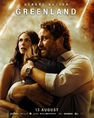 Greenland - Singaporean Movie Poster (xs thumbnail)