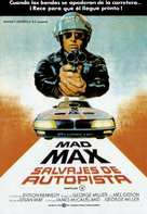 Mad Max - Spanish Movie Poster (xs thumbnail)