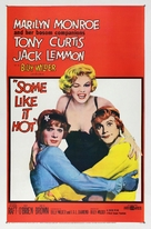 Some Like It Hot - Theatrical movie poster (xs thumbnail)