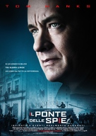 Bridge of Spies - Italian Movie Poster (xs thumbnail)