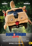Dumb and Dumber To - Hungarian Movie Poster (xs thumbnail)