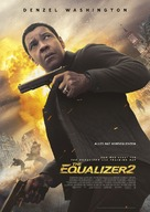 The Equalizer 2 - German Movie Poster (xs thumbnail)