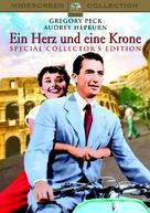 Roman Holiday - German DVD movie cover (xs thumbnail)