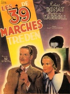 The 39 Steps - Belgian Movie Poster (xs thumbnail)