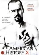 American History X - Danish DVD movie cover (xs thumbnail)