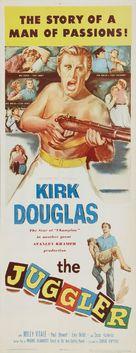 The Juggler - Movie Poster (xs thumbnail)