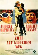 Two for the Road - German Movie Poster (xs thumbnail)