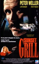 Sunset Grill - French VHS cover (xs thumbnail)