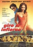 U Turn - Spanish Movie Poster (xs thumbnail)
