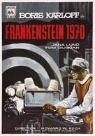 Frankenstein - 1970 - Spanish Movie Poster (xs thumbnail)
