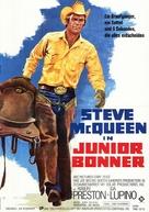 Junior Bonner - German Movie Poster (xs thumbnail)