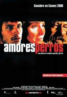 Amores Perros - Spanish Movie Poster (xs thumbnail)